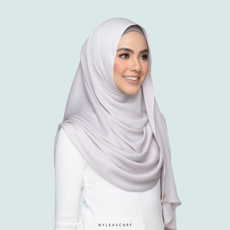 Melur Luxe Dove Grey Right