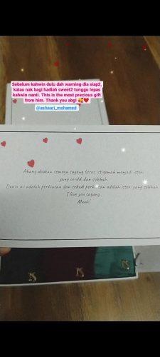 Gift Box (NS Hard Box) photo review