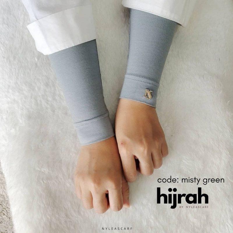 Hijrah Handsock Misty Green