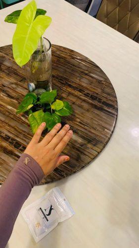 Hijrah Handsock In Dove Grey photo review