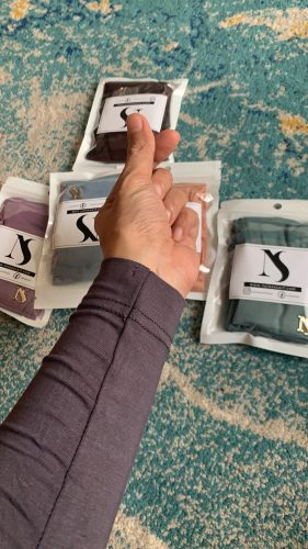 Hijrah Handsock In Teal photo review